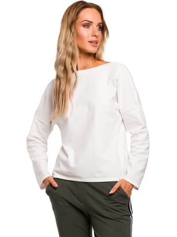 Made of emotion Bluzka w kolorze białym
