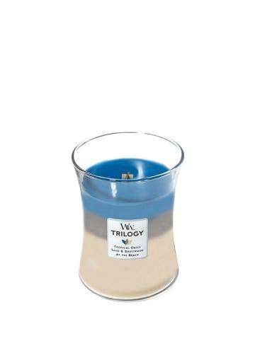 """WoodWick Średnia świeca zapachowa """"Trilogy"""" - Nautical Escape"""