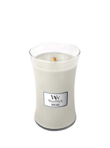WoodWick Duża świeca zapachowa - Warm Wool