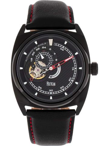 """Reign Zegarek automatyczny """"Astro""""y w kolorze czarnym"""