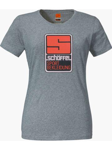 """Schöffel Koszulka """"Zug 2"""" w kolorze szarym"""