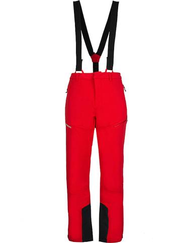 """ROCK EXPERIENCE Spodnie narciarskie """"Sarmiento"""" w kolorze czerwonym"""