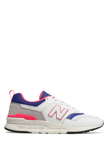 """New Balance Sneakers """"997H"""" wit/blauw"""