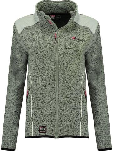 """Geographical Norway Fleece vest """"Tourbillone"""" grijs"""