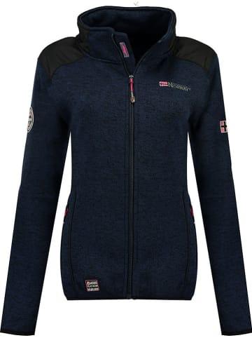 "Geographical Norway Fleece vest ""Tourbillone"" donkerblauw"
