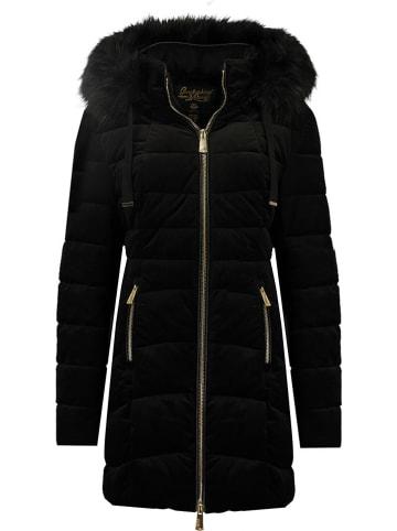 """Geographical Norway Płaszcz zimowy """"Bilove"""" w kolorze czarnym"""