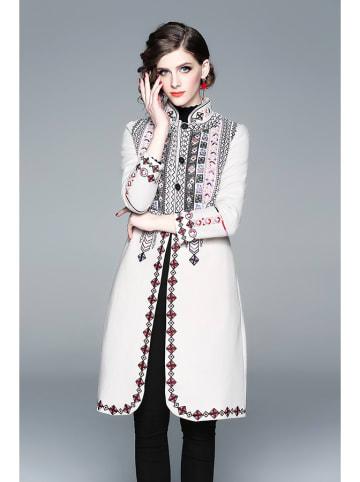 Zeraco Płaszcz w kolorze białym