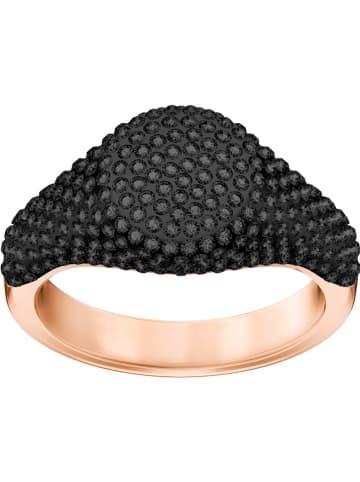 "Swarovski Rosévergulde ring ""Stone"" met Swarovski-kristallen"