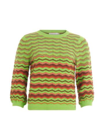 Coster Copenhagen Sweter w kolorze zielono-brązowym