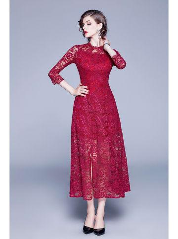 Tina Sukienka w kolorze bordowym
