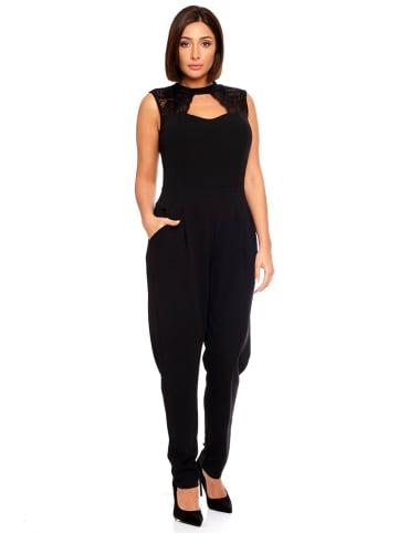 """Plus Size Fashion Kombinezon """"Billie"""" w kolorze czarnym"""