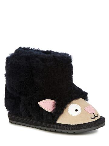 """EMU Leren boots """"Lamb Walker"""" zwart"""