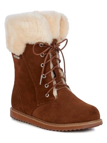 EMU Leren boots bruin