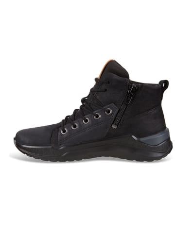 """Ecco Skórzane sneakersy """"Intervene"""" w kolorze czarnym"""