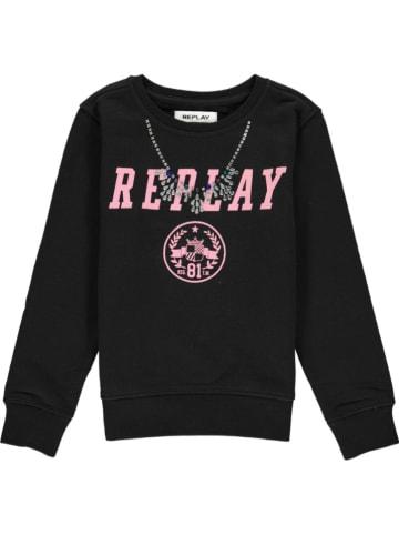 Replay & Sons Bluza w kolorze czarnym