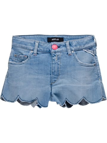 Replay & Sons Jeansshorts in Blau