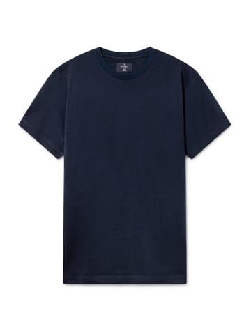 Hackett London T-shirt w kolorze granatowym