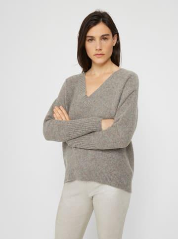 Rodier Wollpullover in Grau