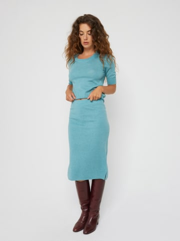 Rodier Rok turquoise