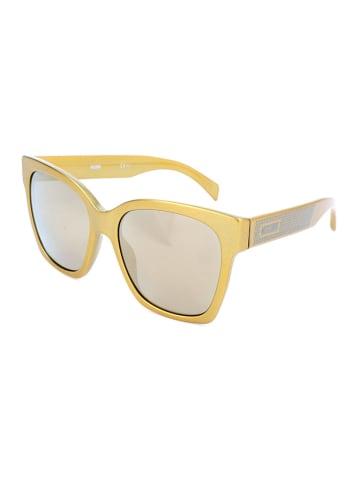 Moschino Dameszonnebril geel
