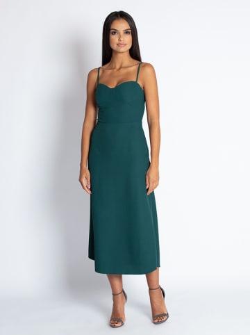 Dursi Sukienka w kolorze ciemnozielonym