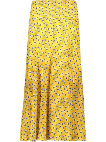 Cacharel Zijden jurk geel