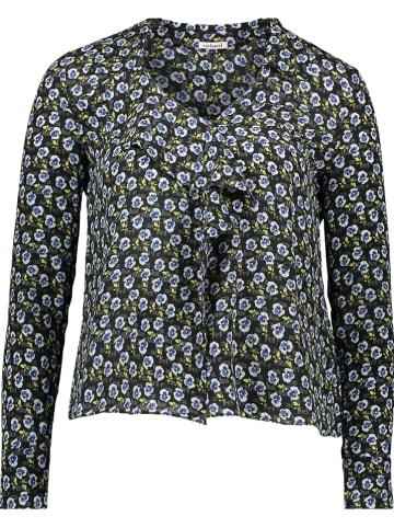 Cacharel Zijden blouse donkerblauw