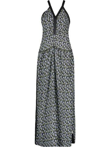 Cacharel Zijden jurk donkerblauw