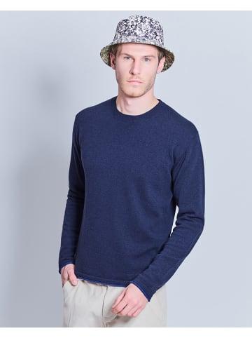 Cacharel Wollen trui donkerblauw