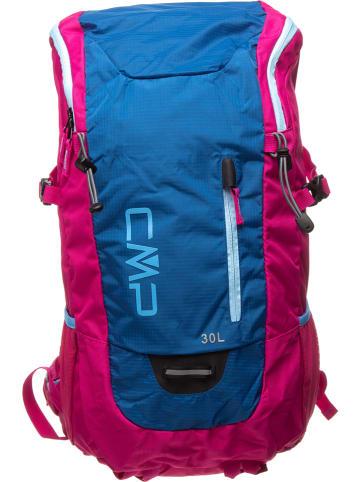 CMP Plecak w kolorze niebiesko-różowym - 28 x 52 x 20,5 cm - 30 l