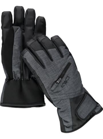 CMP Rękawice narciarskie w kolorze czarno-szarym