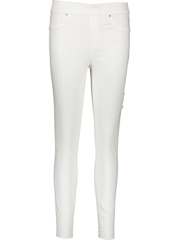 "Spanx Jeggings ""Distressed"" in Weiß"