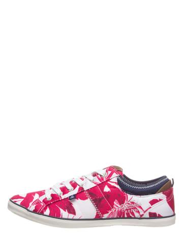 """GAASTRA Sneakersy """"Trip"""" w kolorze czerwonym"""