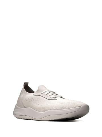 Clarks Sneakersy w kolorze jasnoszarym
