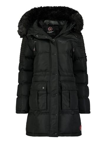 Canadian Peak Wintermantel zwart