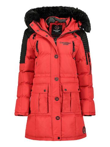Canadian Peak Wintermantel rood