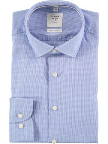 "OLYMP Hemd ""Level 5 Smart Business"" - Body fit - in Blau"
