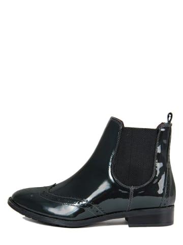 EYE Leder-Chelsea-Boots in Schwarz