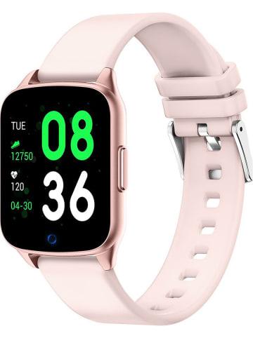 SmartCase Smartwatch w kolorze jasnoróżowym