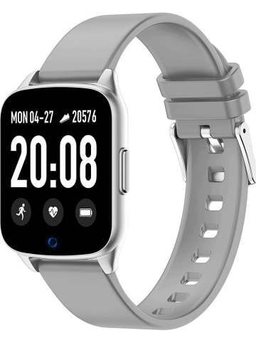 SmartCase Smartwatch in Grau
