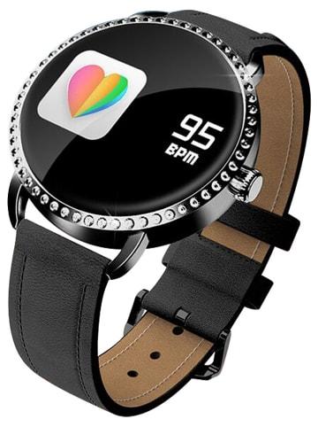 SmartCase Smartwatch in Schwarz