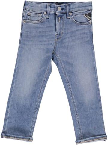 Replay & Sons Jeans - Boyfriend - in Blau