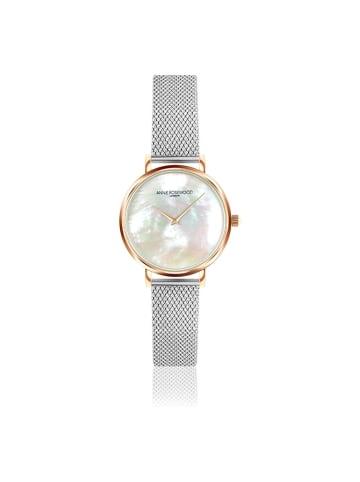 """Annie Rosewood Zegarek """"12C1-S14"""" w kolorze srebrno-różowozłoto-perłowym"""