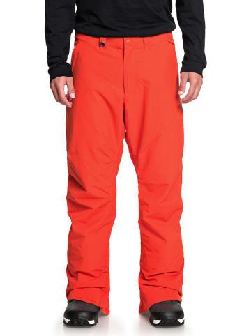"""Quiksilver Spodnie narciarskie """"Estate"""" w kolorze czerwonym"""