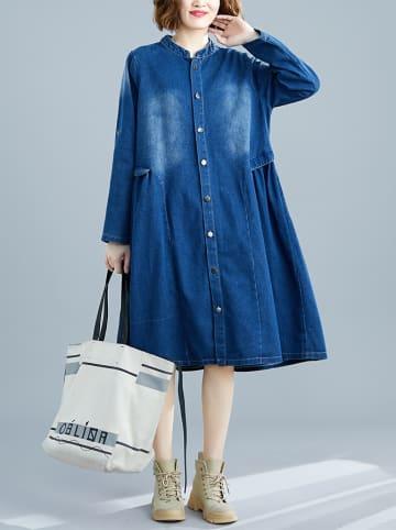 Amato Rizzi Sukienka w kolorze niebieskim