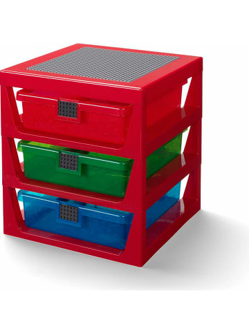 LEGO Kast rood - (B)34,6 x (H)32,6 x (D)37,9 cm