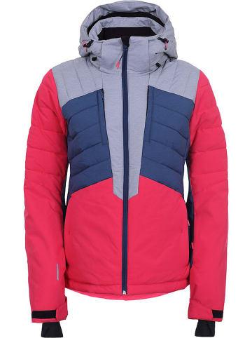 """Icepeak Ski-/snowboardjas """"Coleta"""" rood/blauw"""