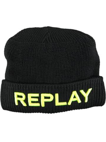 Replay & Sons Czapka w kolorze czarnym