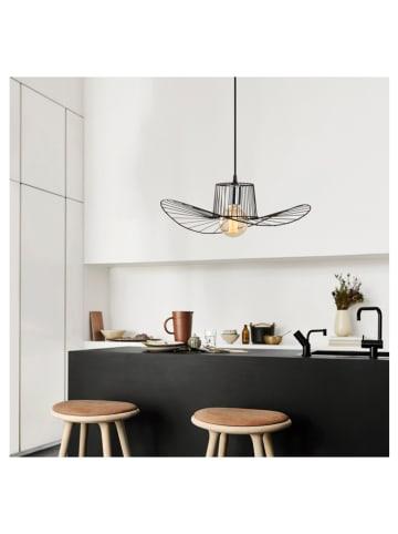 """ABERTO DESIGN Lampa wisząca """"Tel"""" w kolorze czarnym - Ø 50 cm"""