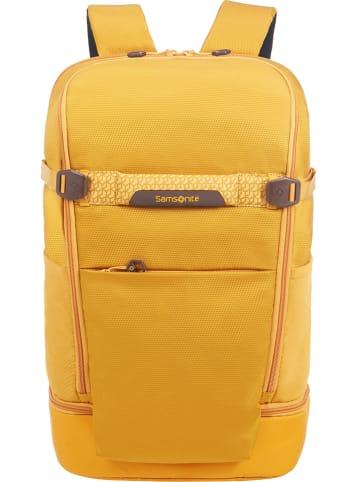 """Samsonite Plecak """"L Travel"""" w kolorze żółtym - 33 x 50 x 17 cm"""